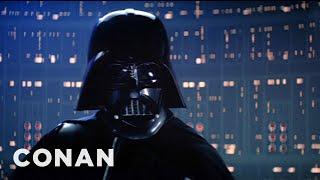 "Conan: Darth Vader Didn't Say ""Luke""!"
