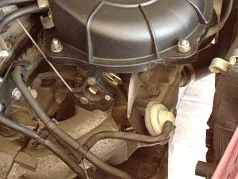 Fiat Uno Mille EP 1.0 i.e Sistema de partida a frio Funcionando