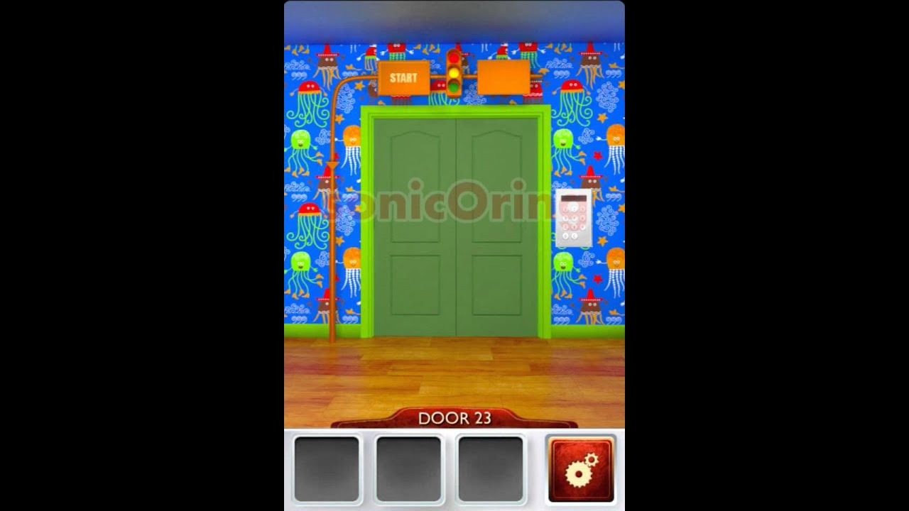 100 doors 2 beta level 23 walkthrough cheats youtube for 16 door puzzle solution