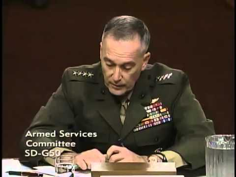 Sen. Ted Cruz Q&A with General Joseph F. Dunford, Jr.