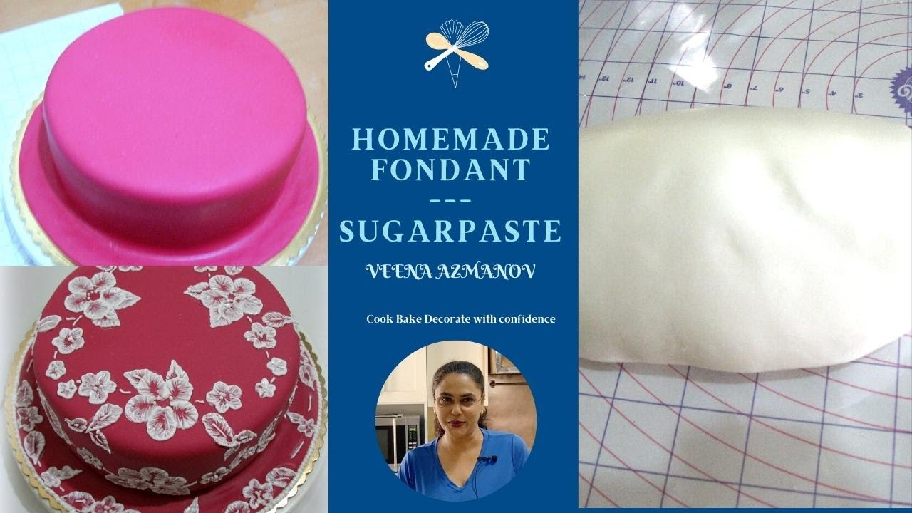 simple fondant recipe for cakes