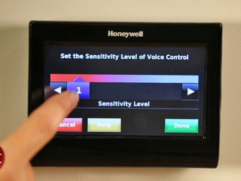 The HAL 9000 meets his female counterpart... the Honeywell Wi-Fi Smart Thermostat with Voice Control