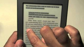 Kindle Touch: How To Take Notes