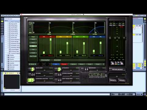 Mastering in Izotope Ozone 5: Part 2 (Exciter and Stereo Imaging)