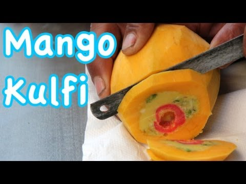Mango Kulfi - Amazing Indian Ice Cream