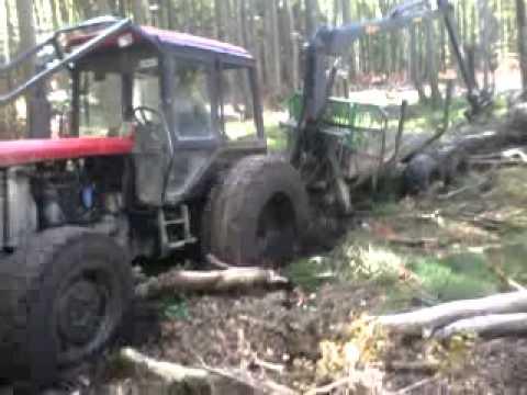 zrywka drzewa na bagnach wtopa belarusa 920,3 turbo
