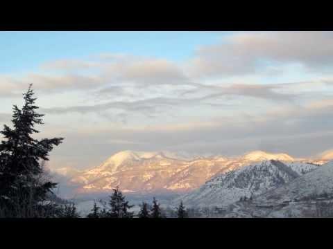 Cool Clouds Timelapse: Jackson Hole Skywatch: 12.9.2013