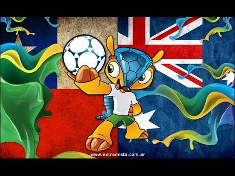 Chile 3-1 Australia Todos Los Goles Mundial Brasil 2014
