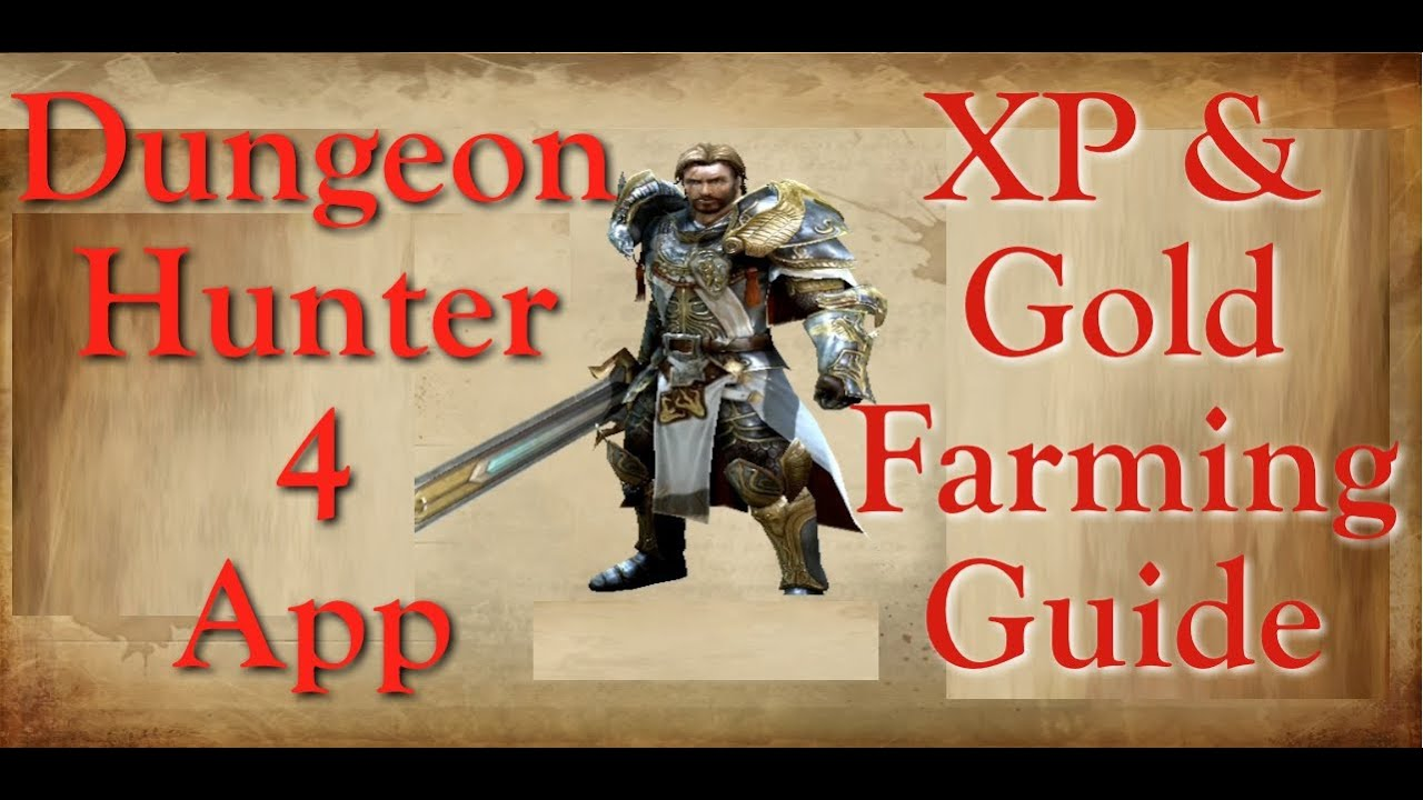 Dh4 dungeon hunter 4 ipad app xp amp gold guide youtube