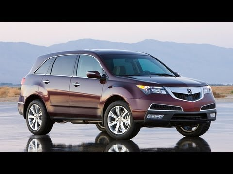 Acura  Review on Acura Mdx Video Review    Edmunds Com   Youtube