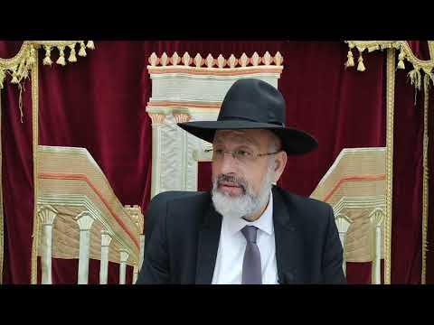Parashat Béréchit La garantie d un monde meilleur. Réussite pour Asher Uzan . Rav Touitou et ses institutions