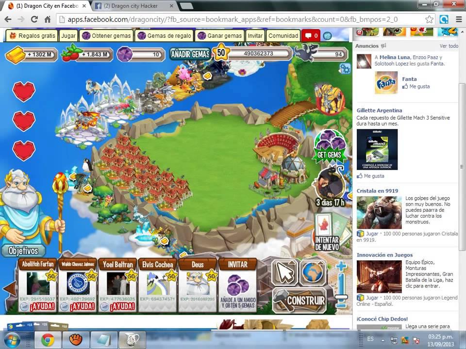Hack de dragon city para poner los habitats en el aire 2013