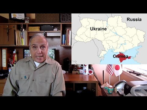 Ukraine Crimea Russia USA:  John Kerry shut up