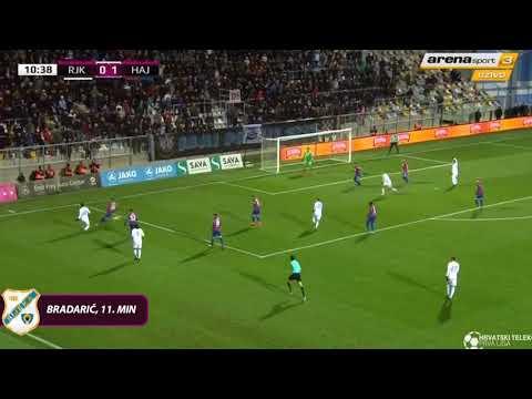Rijeka - Hajduk 1-2