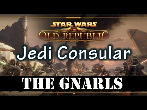 SWTOR Beta - Tython The Gnarls (Jedi Consular Gameplay)