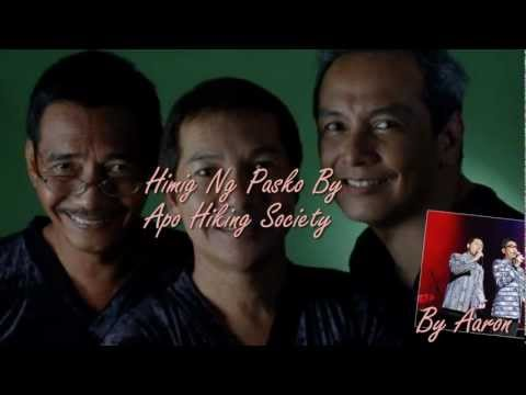 Himig Ng Pasko By Apo Hiking Society With Lyrics -fOD3B2LhXLI