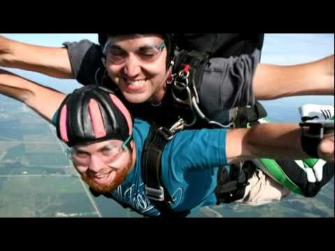 Joshua Kitner goes skydiving!