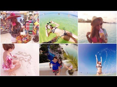 Vlog Cancun- dia 2 ( City Tour, mala chegou, piscina e muito mais)