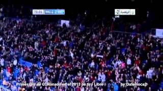 PRIMER GOL DE C. RONALDO DE TIRO LIBRE EN EL 2013