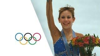 Tara Lipinski Wins Gold Medal Aged 15   Nagano 1998 Winter Olympics
