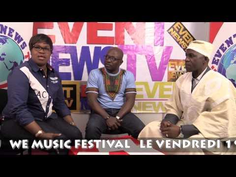 LANCEMENT WE MUSIC FESTIVAL 1er EDITION A PARIS JUIN 2015
