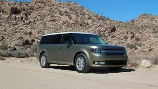 2013 Ford Flex Drive Review (SEL AWD) videos