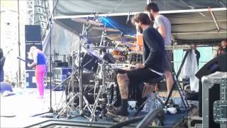 Kylesa - Brutal Assault 2012 (Drum cam)