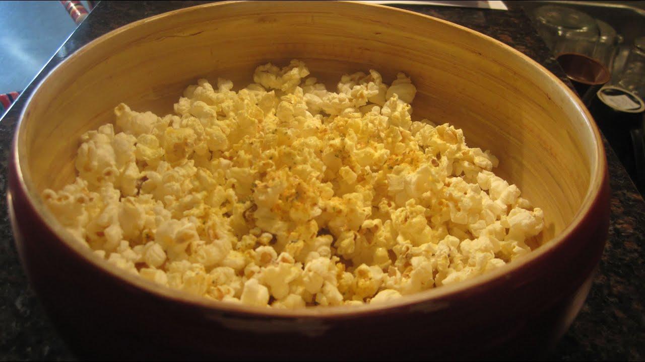 Homemade Microwave Popcorn - YouTube