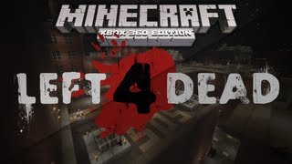 Minecraft Xbox: LEFT 4 DEAD No Mercy Survival Map (w