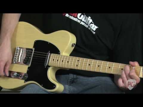 Video Review - Fender 60th Anniversary Telecaster
