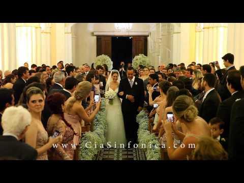Entrada Noiva Hannah - Marcha Nupcial | Cia. Sinfônica | Live Wedding