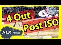 Gonzaga 4 Out Post ISO Basketball Play