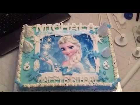 Queen Elsa Cake Design : Frozen Cake 5 - Queen Elsa - YouTube
