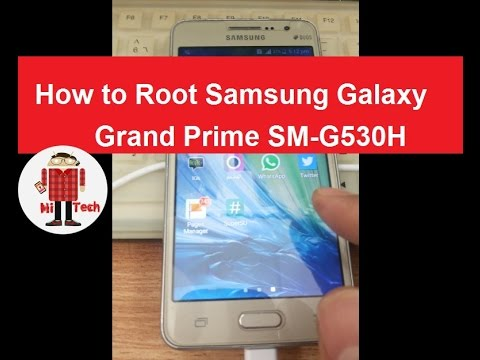 How to Root Samsung Galaxy Grand Prime SM-G530H on Lollipop