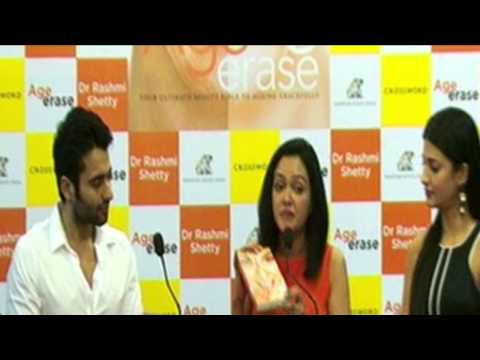 Shruti Hassan & Sarika Launch Age Erase by Dr Rashmi Shetty