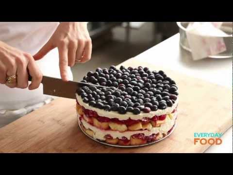 Red, White, and Blue Berry Trifle | Everyday Food with Sarah Carey ...