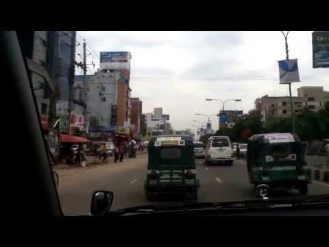 Dhaka, Bangladesh.  Airport to Gulshan Pt. 1/2