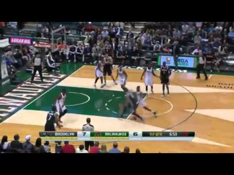 Block of the Night  John Henson   Nets vs Bucks   December 7  2013   NBA 2013 14 Season