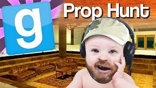 GMod Prop Hunt #4 Baby Chrimon