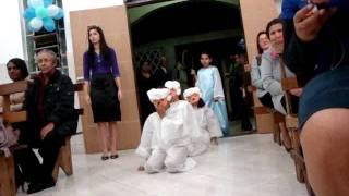 """Aniversário Do Pastor Edmar- Homenagem Das Crianças- """"O"""