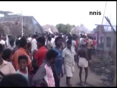 Seven Houses Gutted In Fire In Tamil Nadu's Nagapattinam