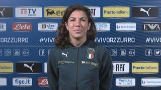 """Bartoli: """"Pronte a dare il massimo, vogliamo l'Europeo"""""""