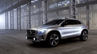 All-New Mercedes GLA-Class concept - DRIVING videos