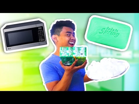 GUAVA JUICE MICROWAVES SOAP AND MARSHMALLOWS EXPERIMENT!