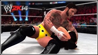 WWE 2K14 Up To Date 2014 Version Of CM Punk!