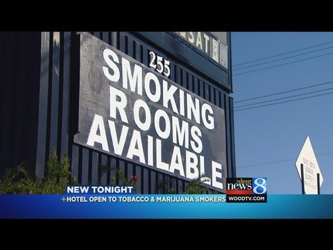Hotel OK with tobacco, medical marijuana