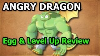 ANGRY DRAGON Dragon City How To Breed And Level Up Fast