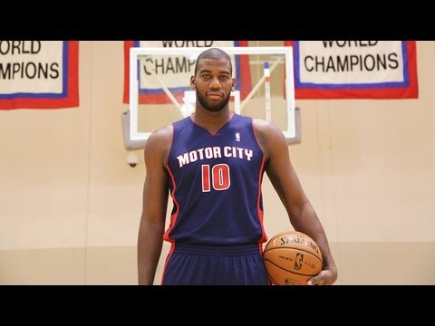 NBA 2K13 - Greg Monroe First Practice in the New Detroit Pistons