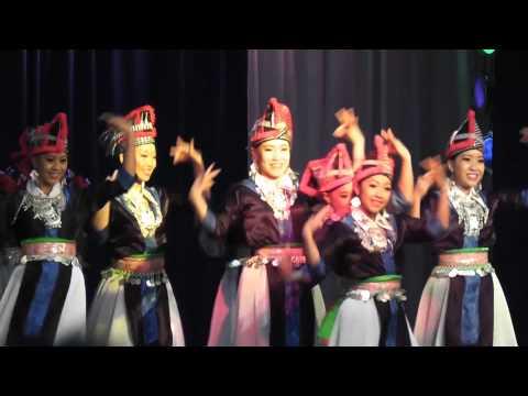 nkauj hmoob hli xiab - (round 1) Hmong International New Year dance comp. 2012- 2013