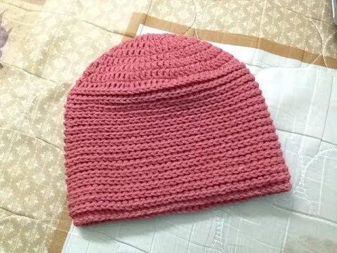 [Crochet] Hướng dẫn móc mũ beanie kiểu 3